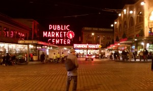 Pike Market at Night